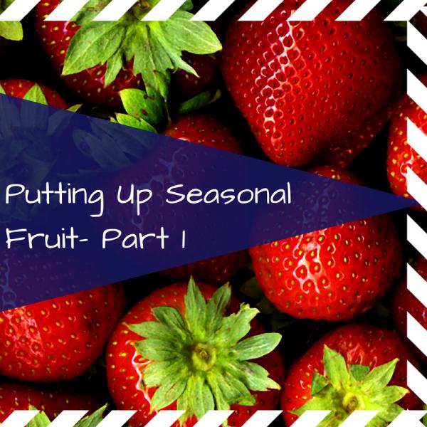 Preserving Strawberries by Freezing Preserving Strawberries
