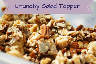 My Favorite Crunchy Salad Toppings -Plus how to measure honey!
