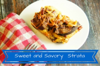 Make Ahead Holiday Breakfast Strata