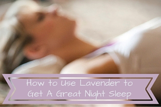 How to use lavender oil to sleep