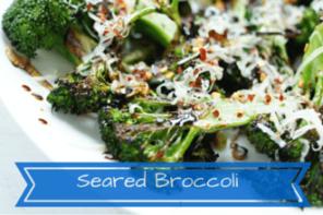 Seared Broccoli Recipe with Citrus