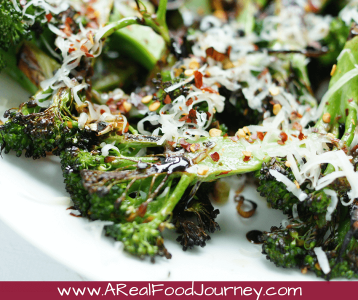 Seared Broccoli a quick and healthy side dish!
