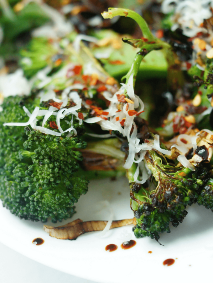 Quick, simple and flavorful seared broccoli recipe. Made with real food ingredients and on the table in about 15 minutes. All I know is I hate broccoli and even I like this recipe! Try it with your kids!