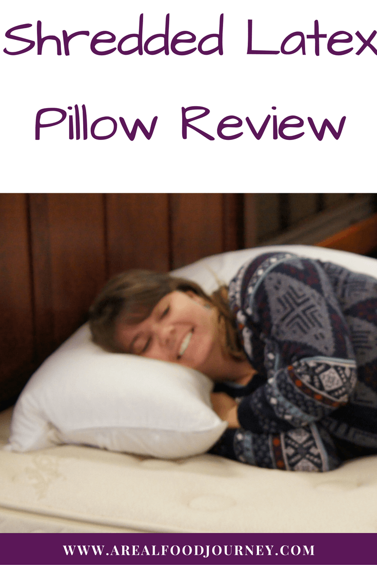 Shredded Latex Pillow Review
