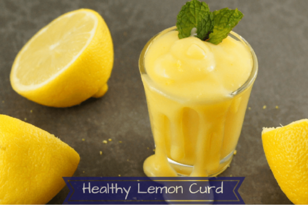 Healthy Lemon Curd Recipe. Learn hpw to make a super simple lemon curd sweetened with honey made in the blender!
