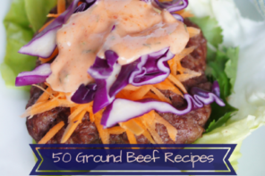 50 Ground Beef Recipes – Low Carb Round Up