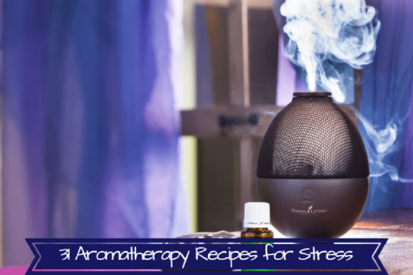 Aromatherapy recipes for stress