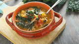 Delicious and Easy Gluten Free Vegetable Soup with Squash!
