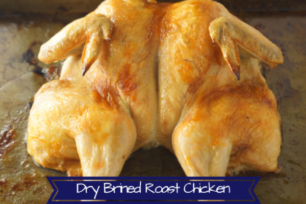 Learn how to Dry Brine Chicken with hot sauce!
