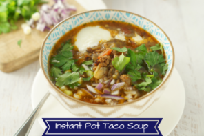 Paleo Taco Soup – Instant Pot Recipe