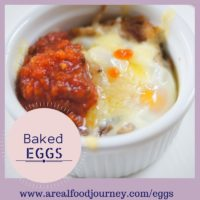 Baked Eggs with Pork