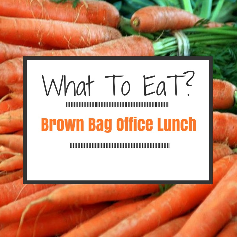 Eating a Real Food Lunch- In an Office