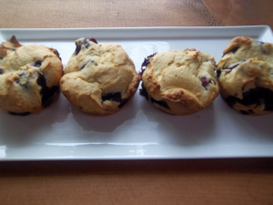 gluten free blueberry muffins recipe