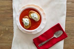 roasted beel pepper soup