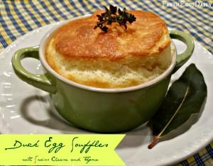 duck egg souffle