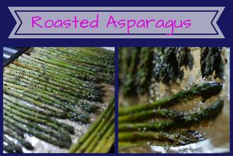 Easy Veggie Side- Savory Roasted Asparagus