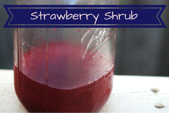 Strawberry Shrub Recipe?!