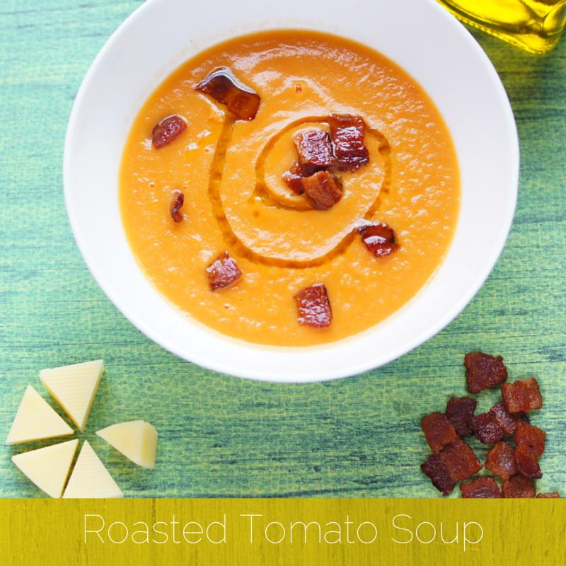 Paleo Roasted Tomato Soup Recipe