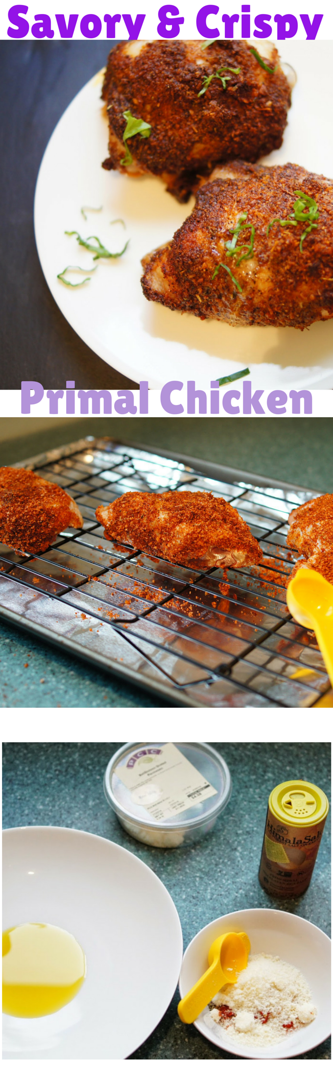 Paleo Baked Chicken primal baked chicken