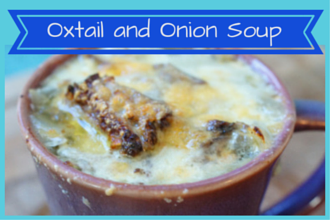 Paleo Oxtail Onion Soup