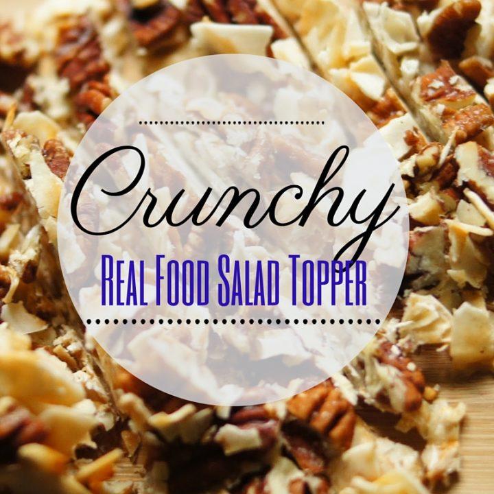 Crunchy Healthy Salad Topper
