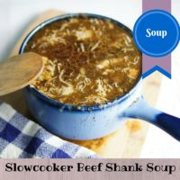 Beef Shanks Slowcooker Soup- Paleo