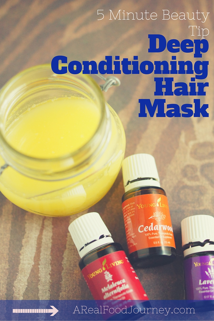 Deep Conditioning hair treatment