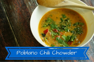 Poblano Chili Chowder