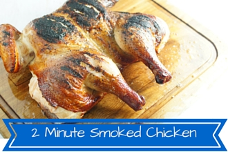 How to Smoke A Whole Chicken- With Video
