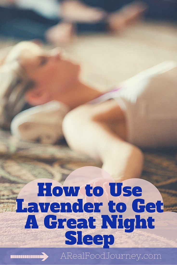Pinterest How to Use Lavender to Get A Great Night Sleep