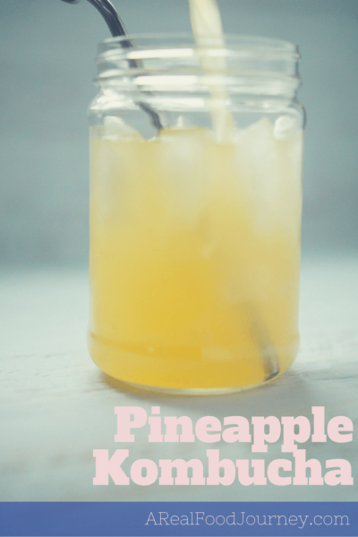 Pineapple Kombucha recipe