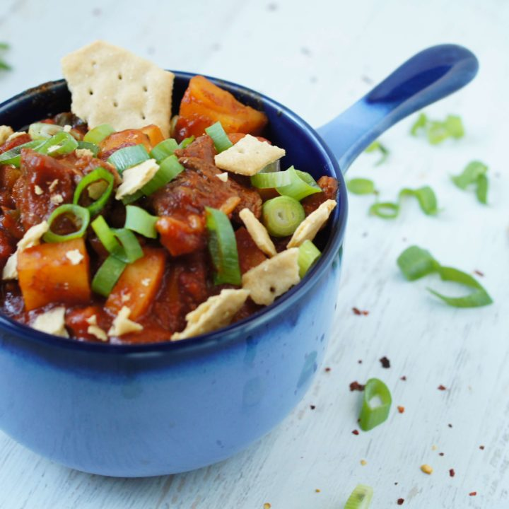 Sweet Potato Paleo Chili
