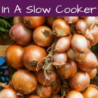 Caramelized Onions in the Slowcooker