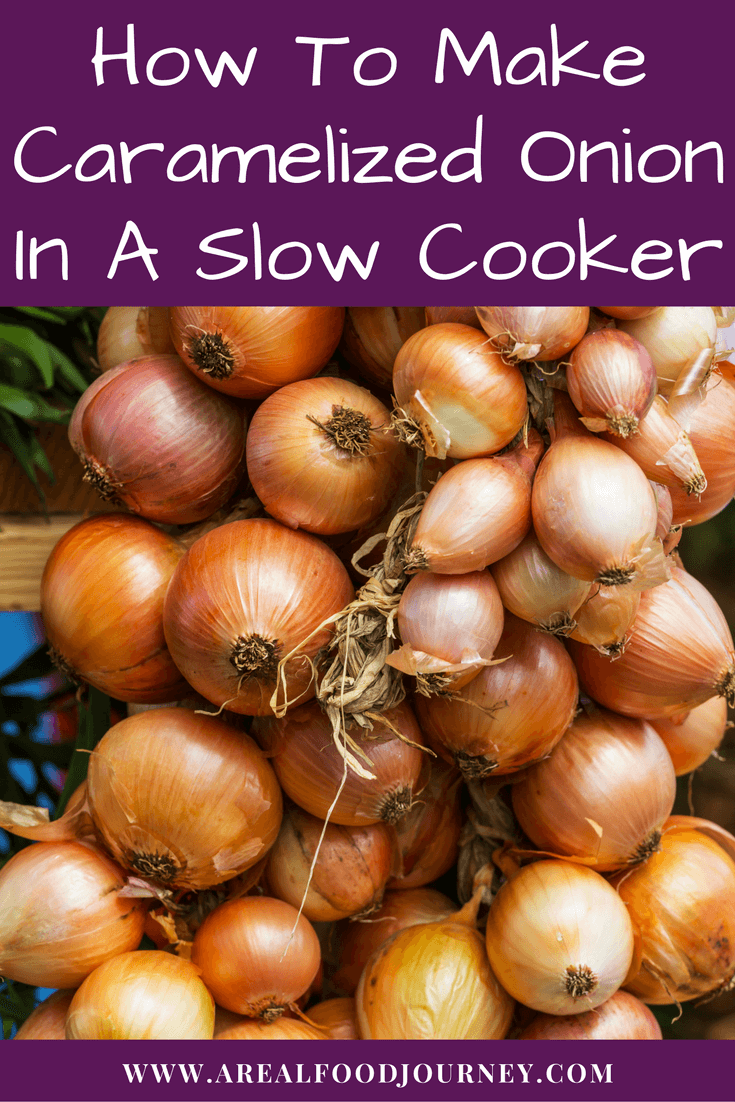 caramelized onions slow cooker