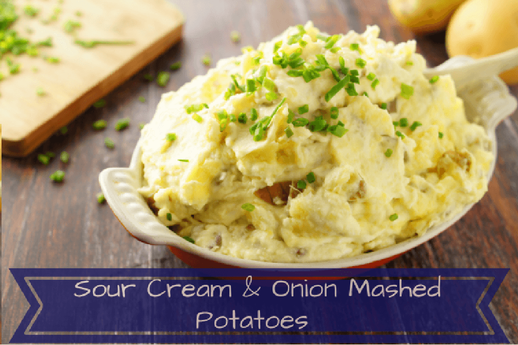 Sour Cream and Onion Mashed Potatoes Recipe
