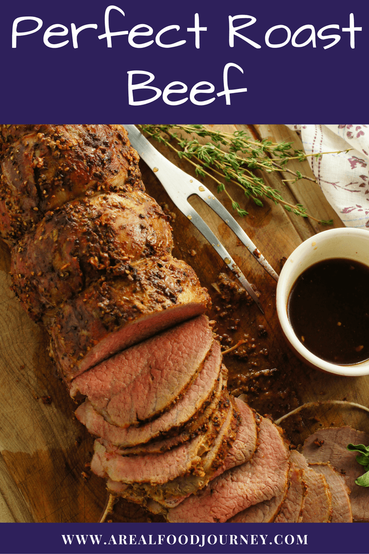 Roast Beef Rub Recipe for Eye of round roasted beef! Learn how to get a perfect eye of round that is tender!