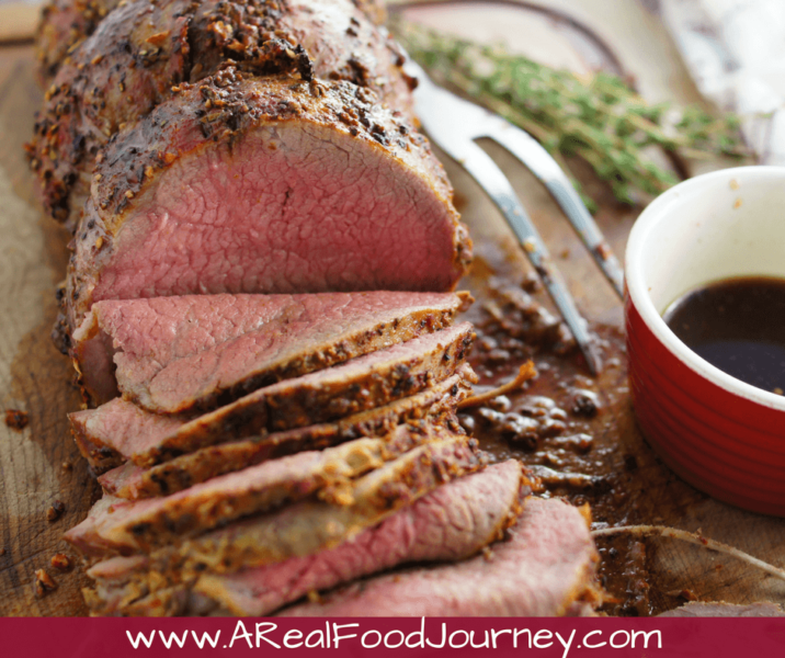 Roast Beef Rub Recipe- learn how to make the perfect roast beef recipe with eye of round. Use a delicious spice rub it make it perfect!