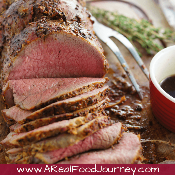 Roast Beef Rub Recipe with Eye of Round