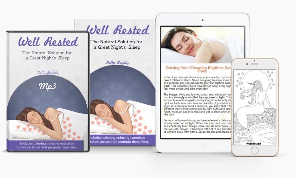 give the gift of sleep with this all natural e-book well rested!