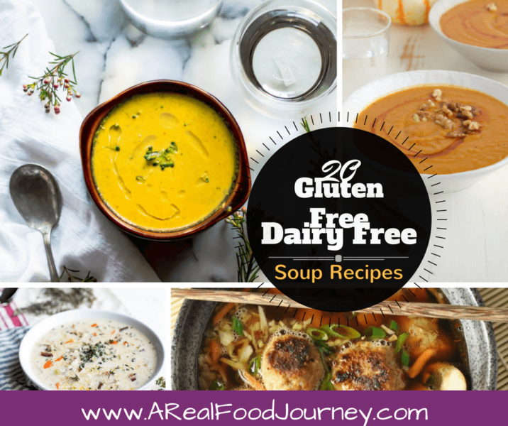 Gluten Free Dairy Free Soup recipes