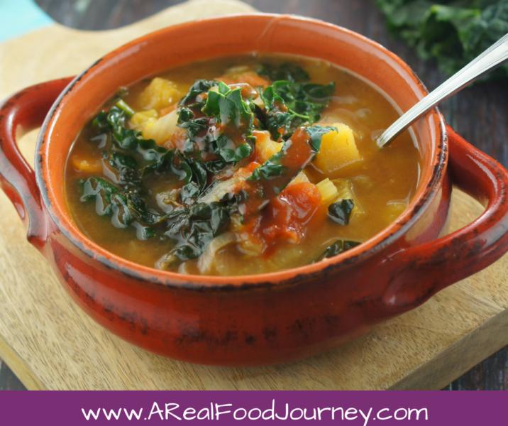 Gluten Free Vegetable Soup Instant Pot