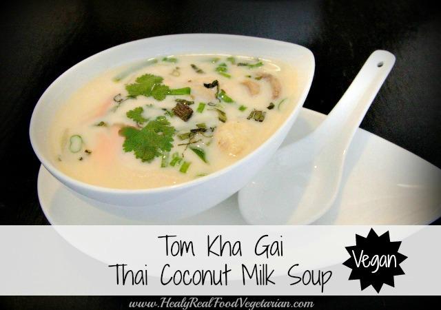 Vegan Tom Kha Gai Soup