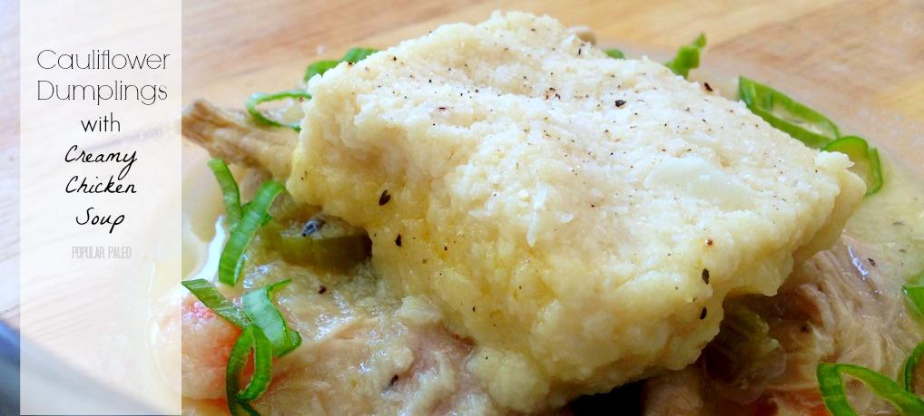 gluten free dumpling soup