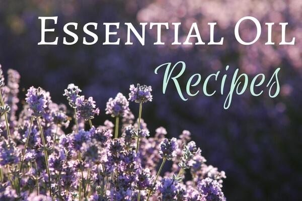 Essential oil reipes from www.arealfoodjourney.com