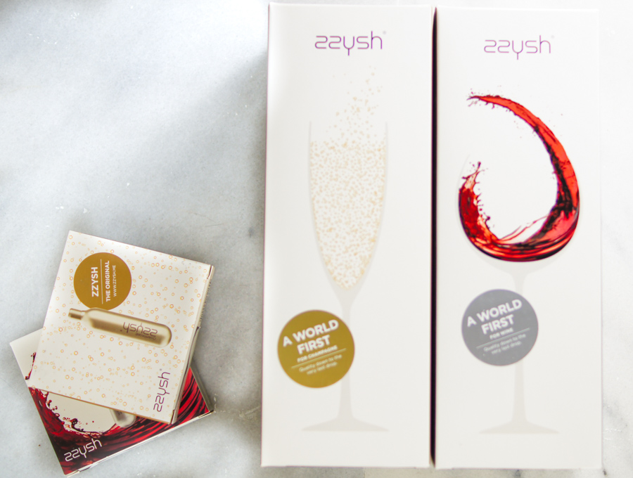 Zzysh wine packaging