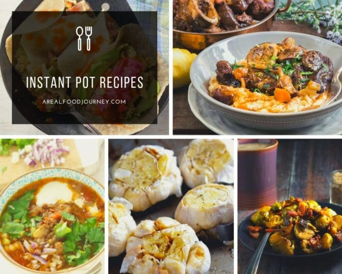 many keto instant pot recipes collage