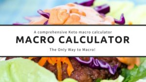 Macros calculator link with short ribs behind it