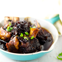 Instant Pot Short Ribs with Balsamic Onion