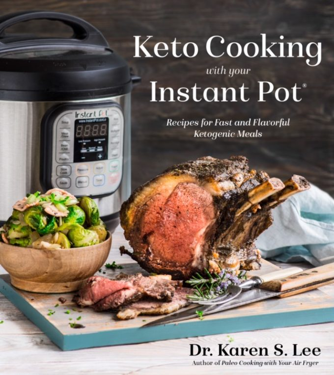 keto cooking in your instant pot book cover