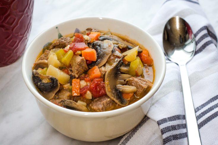 Chunky Beef Pot Roast Soup Recipe (Keto, Low-Carb)